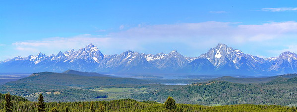 "Pano taken from the ""The Pulpit"" - Jackson Hole, Wyoming"