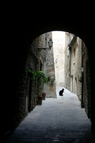 Bad Luck Ahead-San Gimignano, Italy