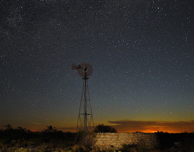 The Lone Windmill - Comstock, Texas