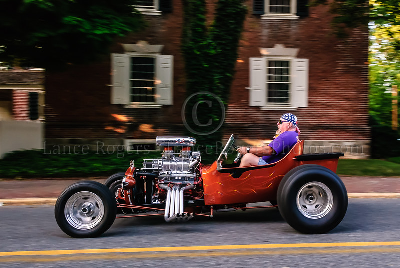 He's gone - Hot Rod, Old New Castle, Delaware