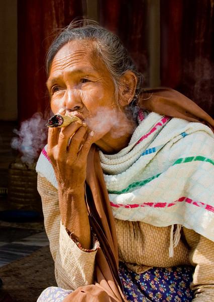 Ahhhh, A 5¢ Cheroot-Bagan, Burma