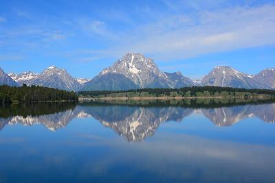 Jackson Lake, Grand Teton National Park - July 2015