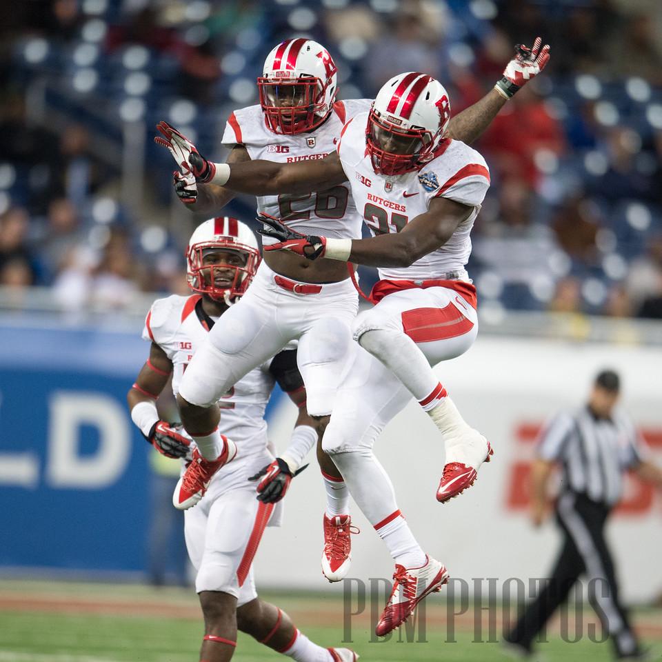 Quick Lane Bowl - Rutgers vs. UNC 12/26/2014