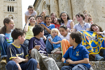 Noah Makes New Friends in Massa Marittima