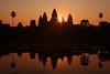 Angor Wat at Sunrise, Siem Reap, Cambodia
