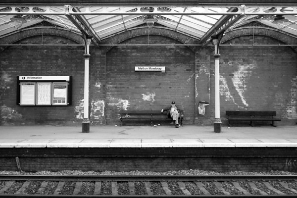 Train Station  Melton Mowbray, England