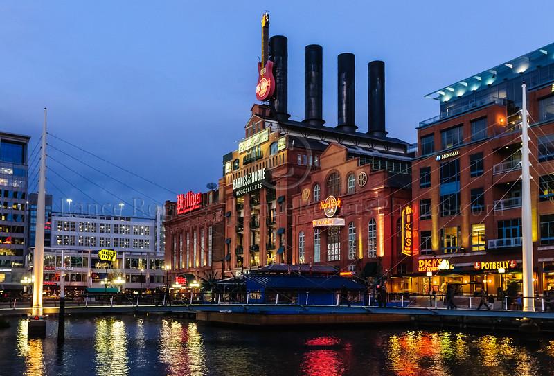 Baltimore Inner Harbor PowerPlant
