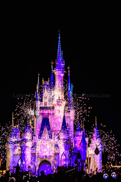 Castle at Night - Walt Disney World