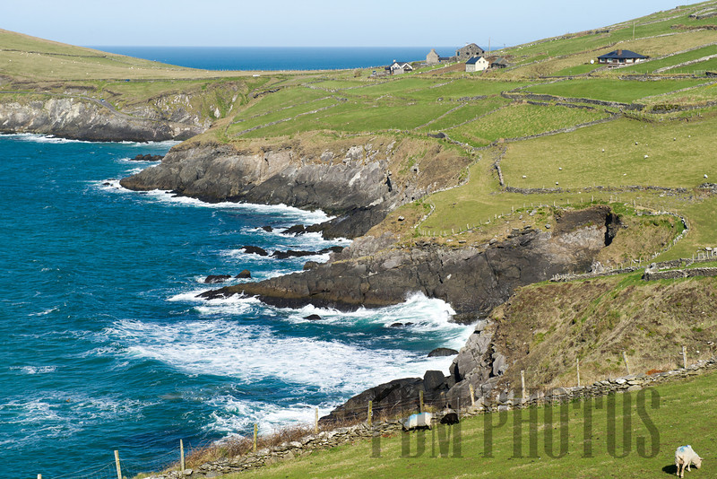 View from Slea Head Drive, Dingle Peninsula, County Kerry, Ireland
