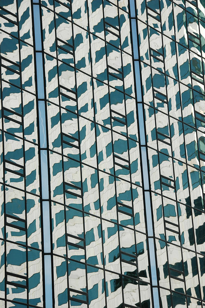 Building reflecting another building<br /> Tampa, FL