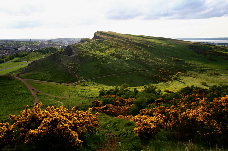 Salisbury Crags<br /> <br /> Edinburgh, Scotland