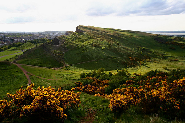 Salisbury Crags  Edinburgh, Scotland