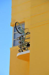 Bike on Balcony