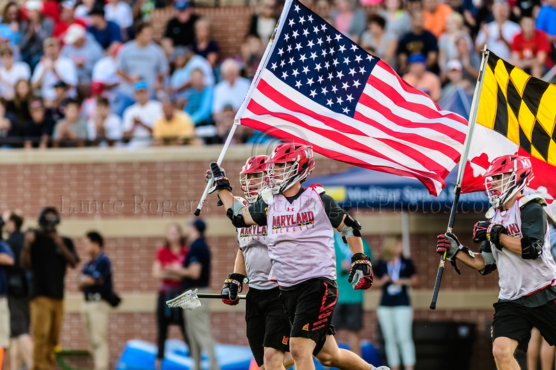 Team USA vs Maryland Men's Lacrosse Fall Classic