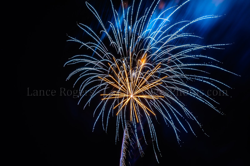 Fireworks @ 10th Annual Chester County Balloon Festival