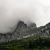 Smoke and Clouds roll over Glacier NPS