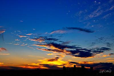 Bering Street Sunset