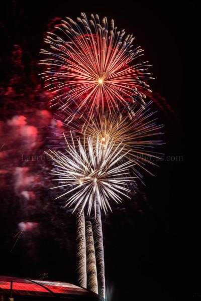 4th of July Fireworks over University of Delaware