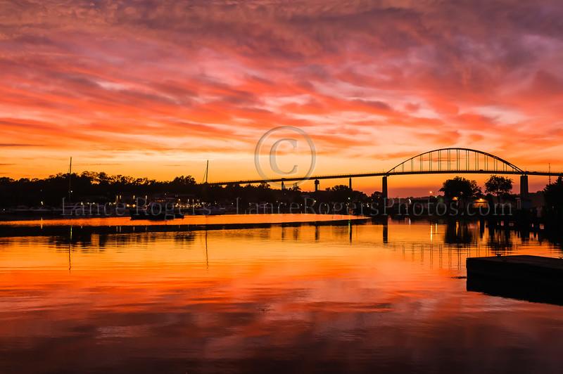 Sunset Chesapeake City, MD