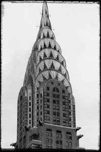 Chrysler Building as seen from W Hotel