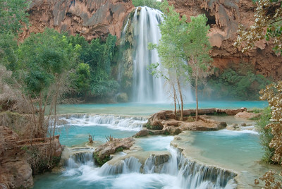 Havasu Falls, Havasupai Indian Reservation, Supai