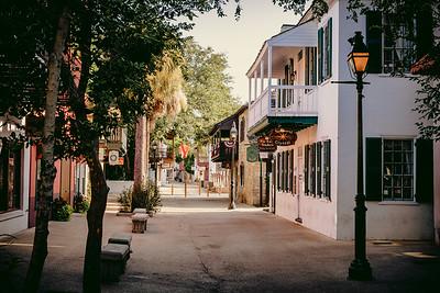 St. George Street, St. Augustine, Florida
