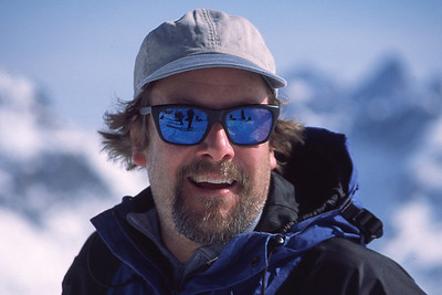 Bill Simonds, Selkirk Mountains, British Columbia