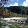 Hikers near Hila'an, Guam
