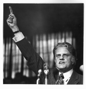 Rev. Billy Graham at GWU 1971