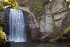 Looking Glass Falls.  Brevard, North Carolina.