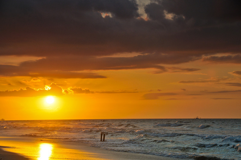 Sunrise, North Myrtle Beach, South Carolina.