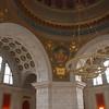 Inside the rotunda of the Rhode Island State House