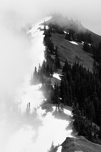 North and south aspects, Olympic Mountains, Washington