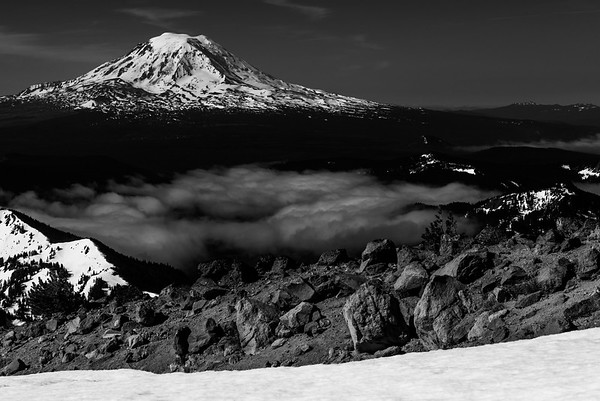 Mt Adams as viewed from the Goat Rocks