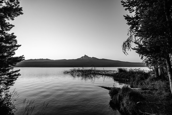 Mt Thielsen and Diamond Lake, Oregon