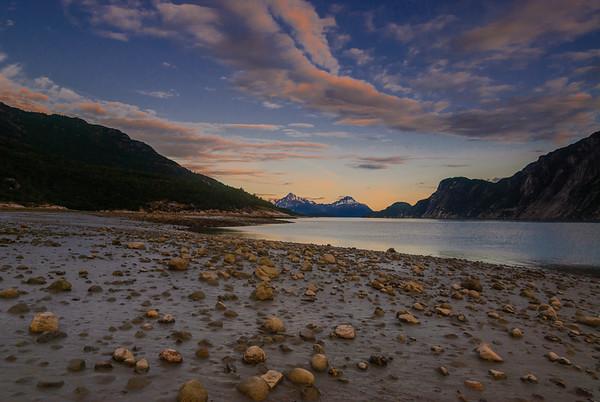 Low tide.  Glacier Bay National Park, Alaska