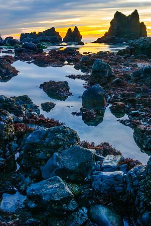 Canon Beach sunset, Oregon Coast