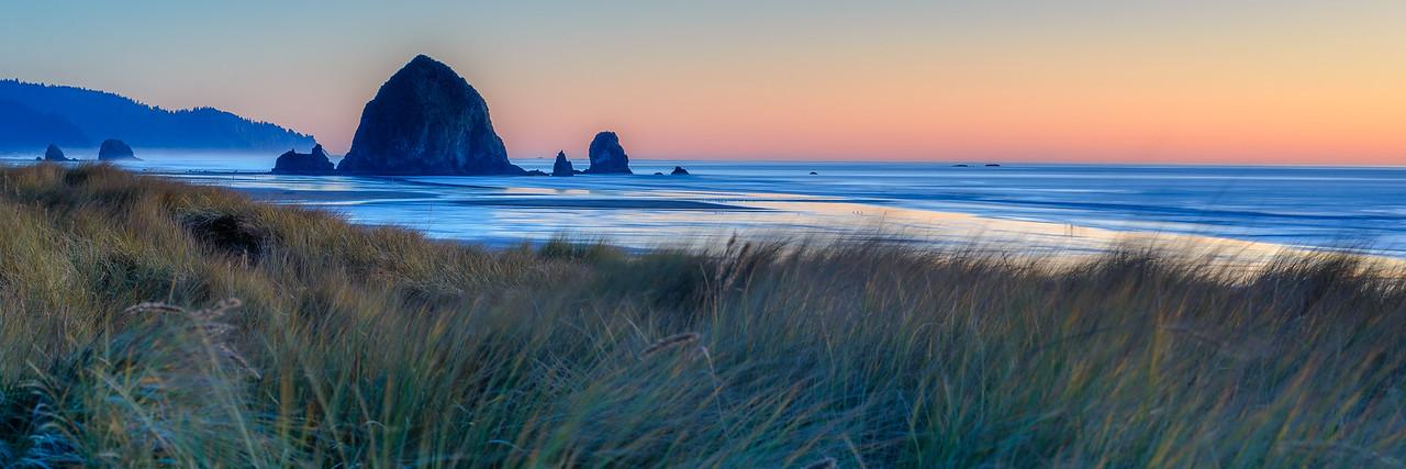 Evening light on the Oregon Coast