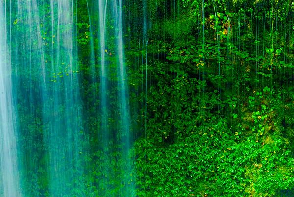 Waterfall, Lewis River, Washington
