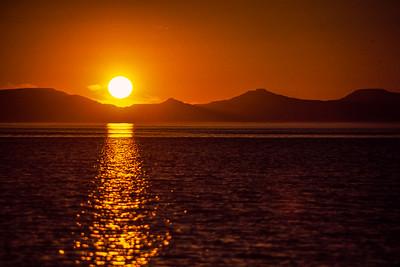 Baja sunset, Mexico