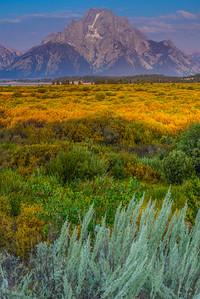 Mt Moran, Tetons, Wyoming