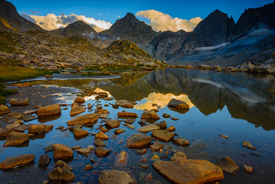 Wind River reflection, Wyoming