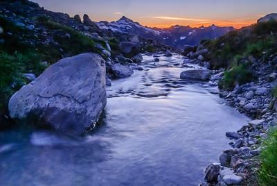 Outlet stream, Glacier Peak Wilderness, Washington