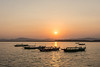 Sunset on the Ayeyarwady River