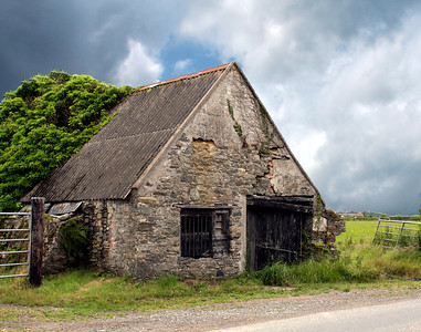 A Stone Barn in County Wexford, Ireland