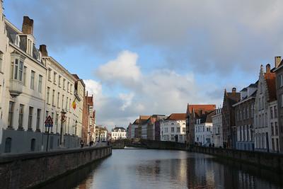 Van Eyck Plaza, Brugges, Belgium