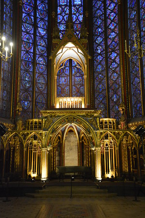 Sainte Chappelle, Paris, France