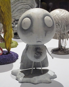 Stain Boy, Tim Burton Exhibit at the MOMA, New York, NY