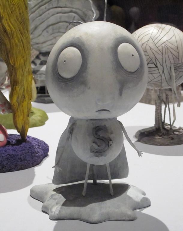 Stain Boy, Tim Burton Exhibit at the MOMA, New York, NY
