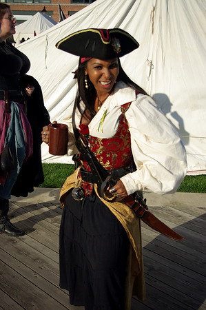 """""""The Carribbean Pearl"""", Privateer Day, Fell's Point, Baltimore, MD"""